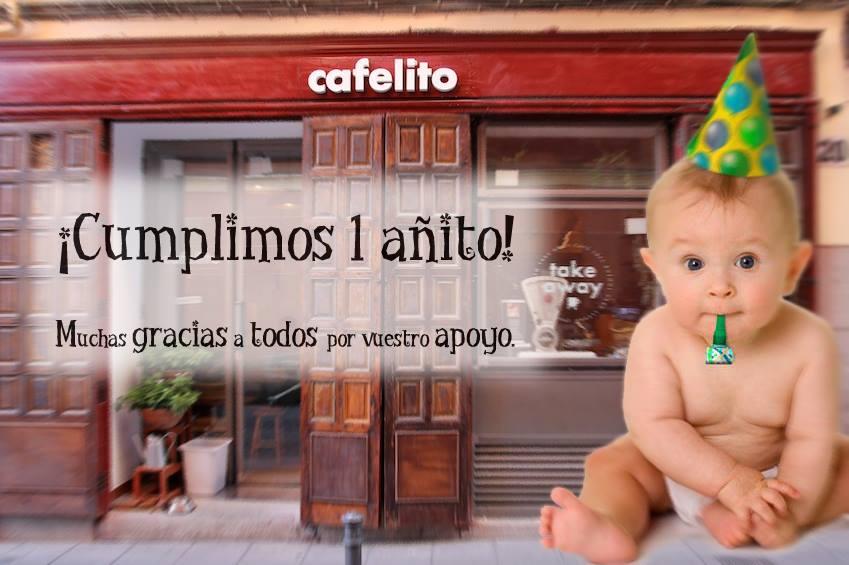 CAFELITO LAVAPIES MADRID CUMPLE SU PRIMER ANIVERSARIO